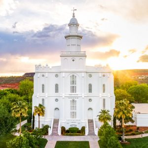 st-george-temple-rays-of-light