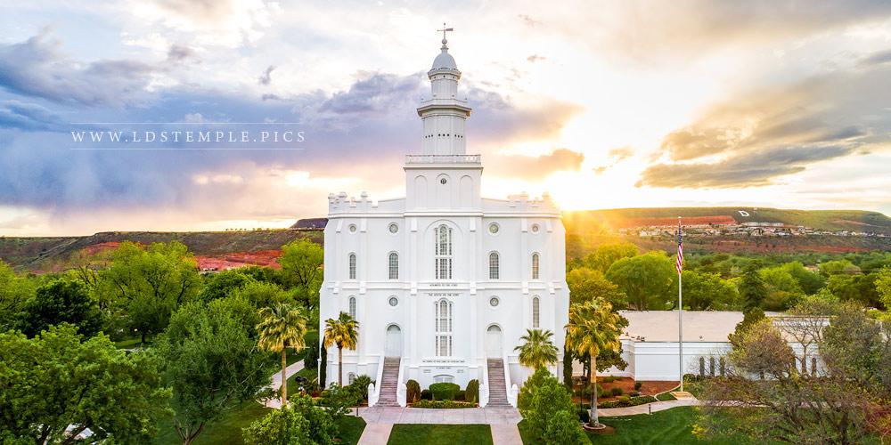St. George Temple – Rays of Light