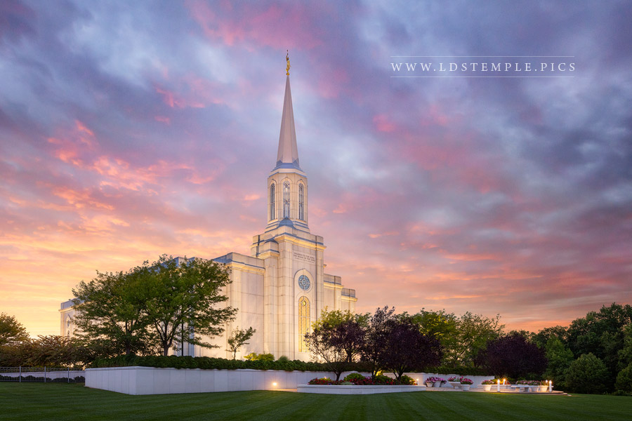 St. Louis Temple Glory To The Highest Print