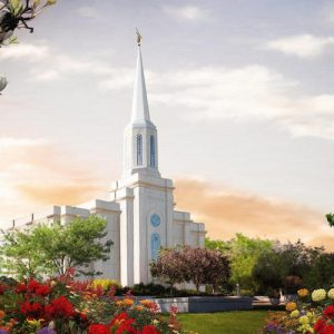 st-louis-temple-summer-sunset-painting
