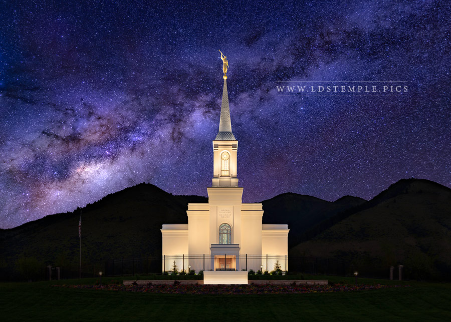 Star Valley Temple Eternal Creations Print