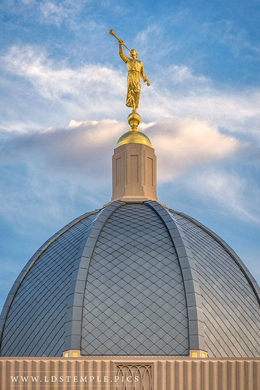 Tucson Temple Angel Moroni Dome Print