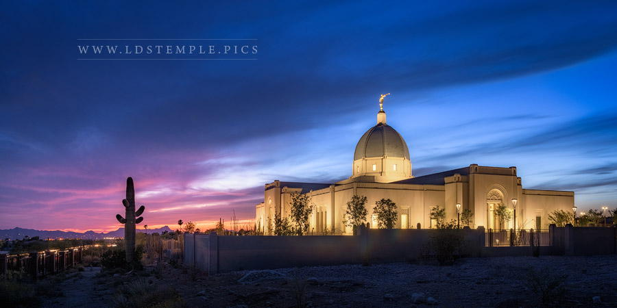 Tucson Temple Blue Print