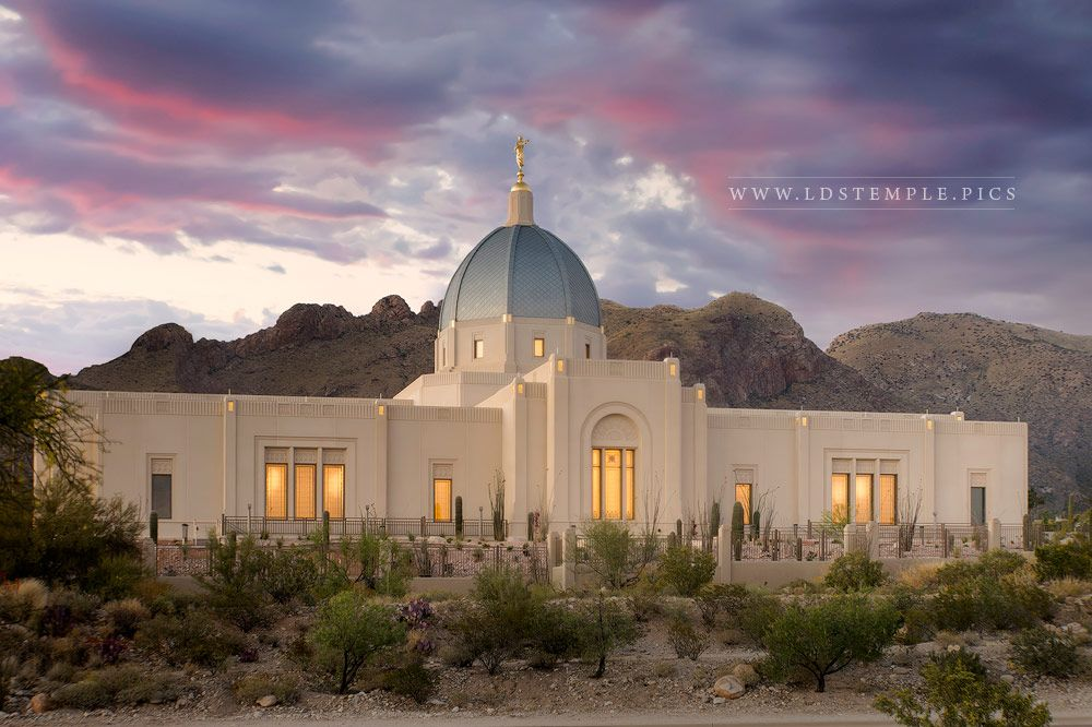 Tucson Temple Calming the Storms Print