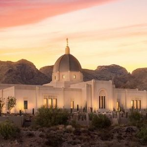 tucson-temple-catalina-evening