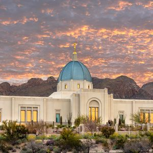 tucson-temple-front-sunrise