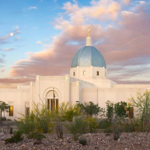 tucson-temple-full-moon-sunrise