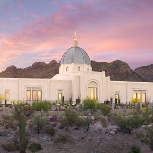 Tucson temple desert sunset lds temple pictures tucson temple glory to the highest solutioingenieria Gallery