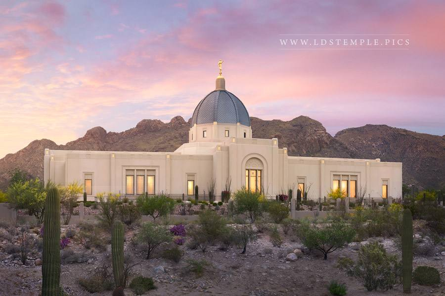 Tucson Temple Glory To The Highest Print