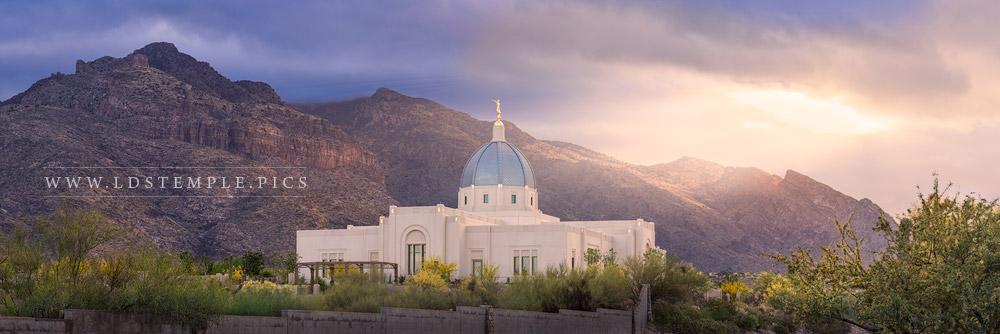 Tucson Temple Heavenly Light Print