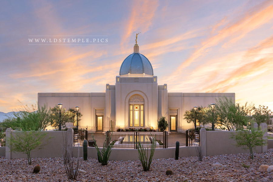 Tucson Temple Light of Truth Print