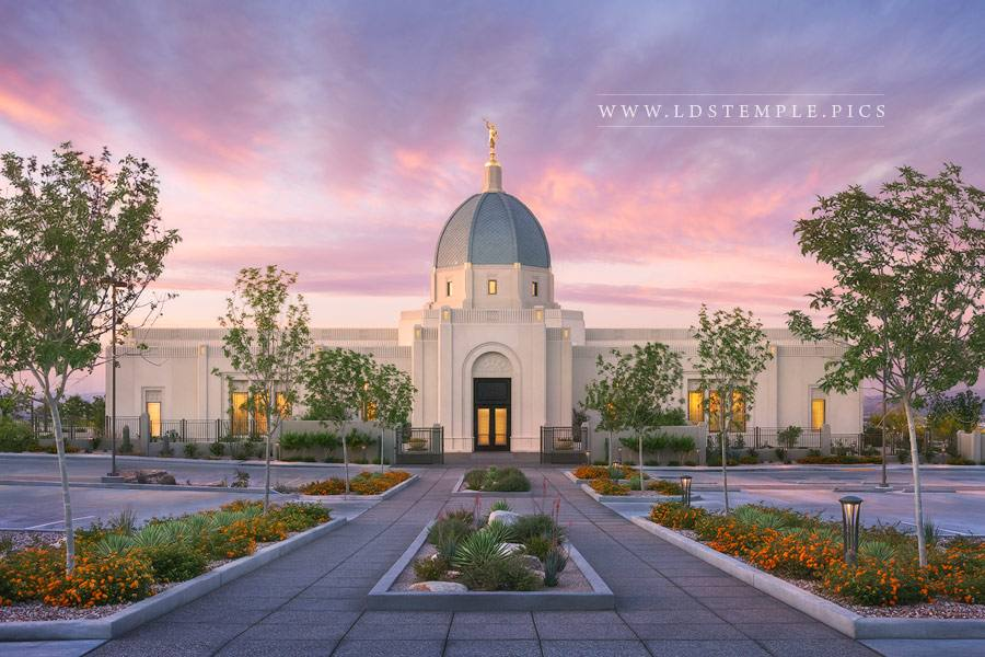 Tucson Temple Pathway to Eternity Print