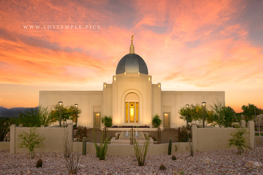 Tucson Temple Refined By Fire Print