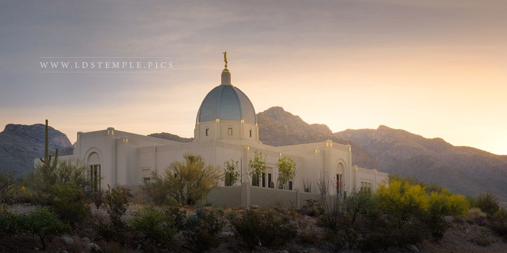 Tucson Temple Sonoran Jewel Print