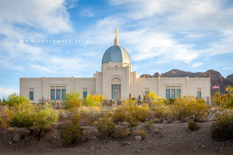 Tucson Temple Spring Day Print