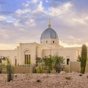 tucson-temple-summer-sunset