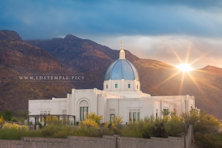 #5: Tucson Temple Sunburst