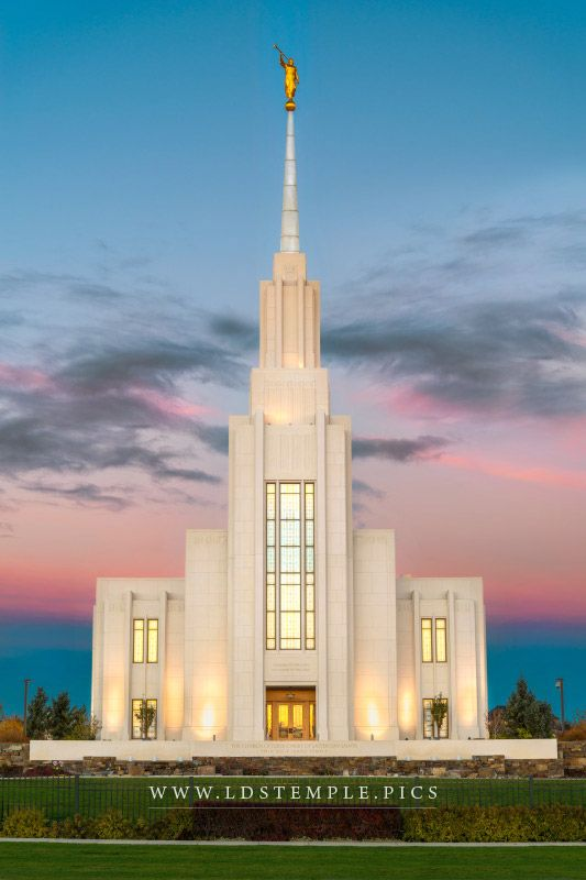 Twin Falls Temple Dawn Lds Temple Pictures