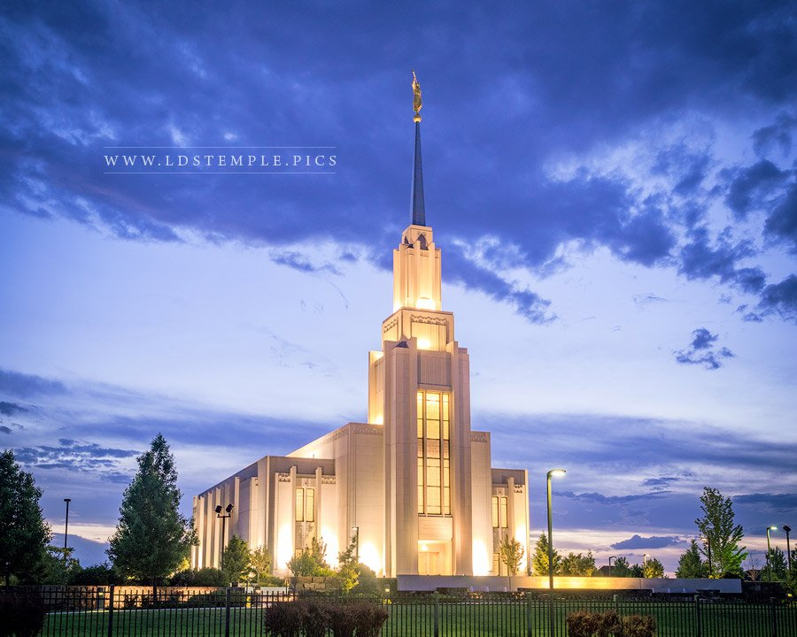 Twin Falls Temple Light House Lds Temple Pictures
