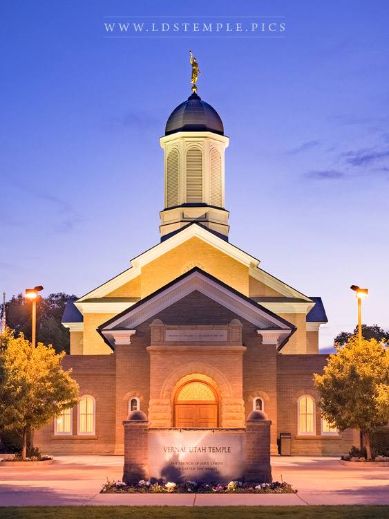 Vernal Temple A Place of Peace Print
