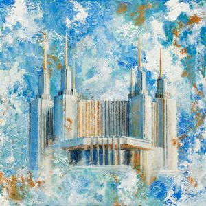 washington-dc-temple-cold-wax-oil-painting