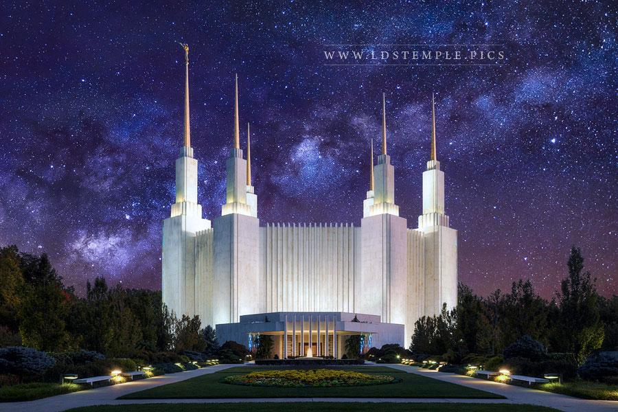 #6 (tied): Washington DC Temple – For Eternity