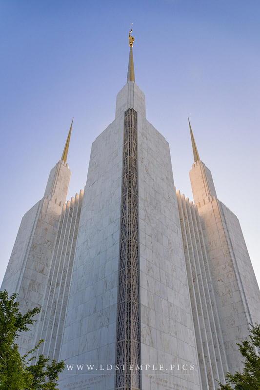 Washington DC Temple Spires Print