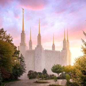 washington-dc-temple-summer-sunset